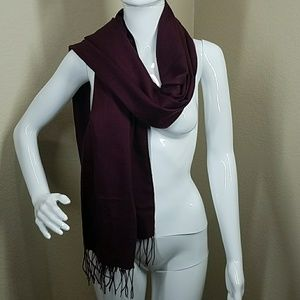 Nordstrom wool and cashmere scarf